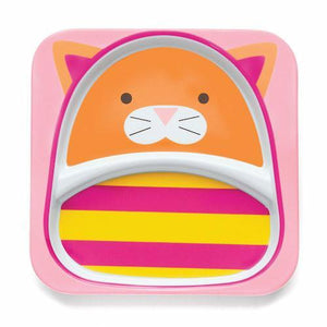Skip Hop Zoo Tableware Plates - Cat - fifibaby