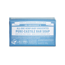 Dr. Bronner's Baby Unscented Pure-Castile Bar Soap - 5 oz.