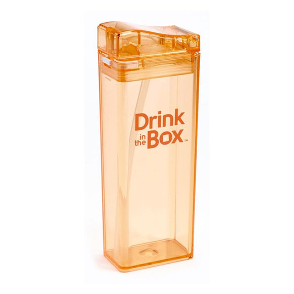 Drink in the Box 3+ Water Box 12oz -Orange