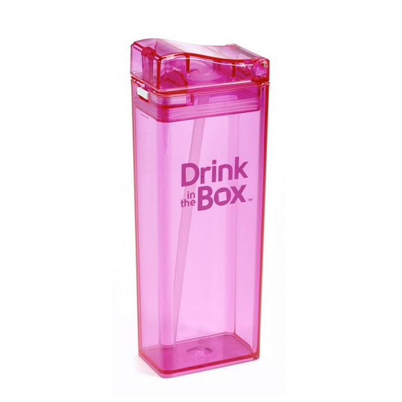Drink in the Box 3+ Water Box 12oz -Pink