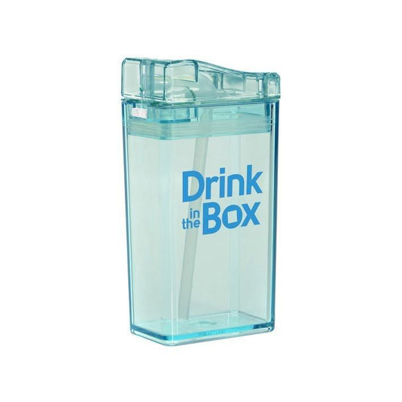 Drink in the Box 3+ Water Box 8oz - Blue