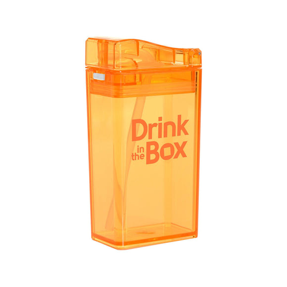 Drink in the Box 3+ Water Box 8oz - Orange