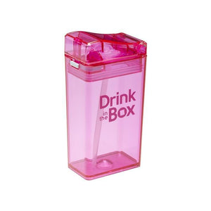 Drink in the Box 3+ Water Box 8oz - Pink