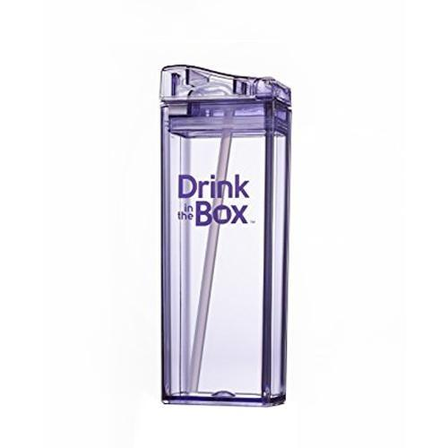 Drink in the Box 3+ Water Box 12oz - Purple