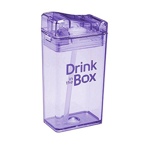 Drink in the Box 3+ Water Box 8oz - Purple
