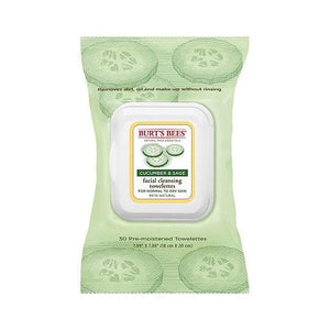 Burt's Bees Facial Cleansing Towelettes 30 Wipes - fifibaby