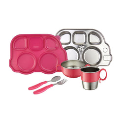 Innobaby Din Din Smart Stainless Mealtime Set