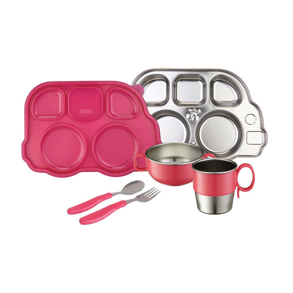 Innobaby Din Din Smart Stainless Mealtime Set - fifibaby