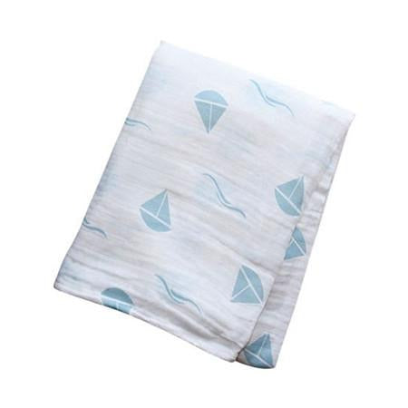 lulujo Muslin Cotton Baby Blanket