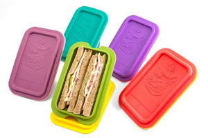 Marcus & Marcus Collapsible Sandwich Wedge Container - fifibaby