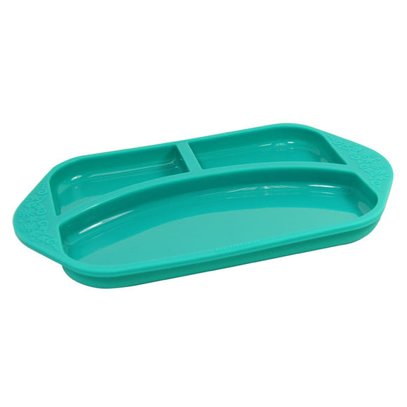 Marcus & Marcus Silicone Divided Plate - fifibaby