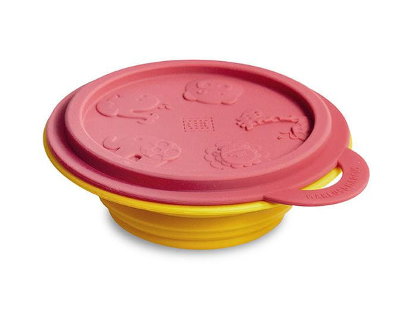 Marcus & Marcus Silicone Rubber Collapsible Container - fifibaby