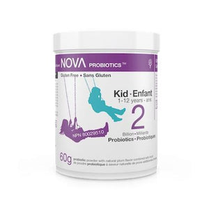 Nova 2 Billion Probiotics - Kids 1-12 Years - 60g