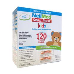 NeilMed Sinus Rinse Kids 120 Premixed Packets