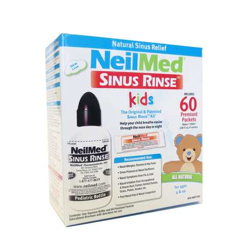 NeilMed Sinus Rinse Kit Kids 60s
