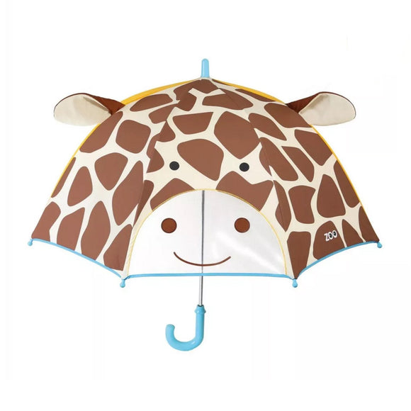 Skip Hop Zoobrella Little Kid Umbrella - Giraffe - fifibaby