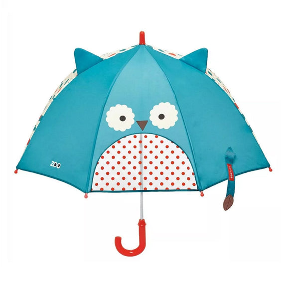 Skip Hop Zoobrella Little Kid Umbrella - Owl - fifibaby