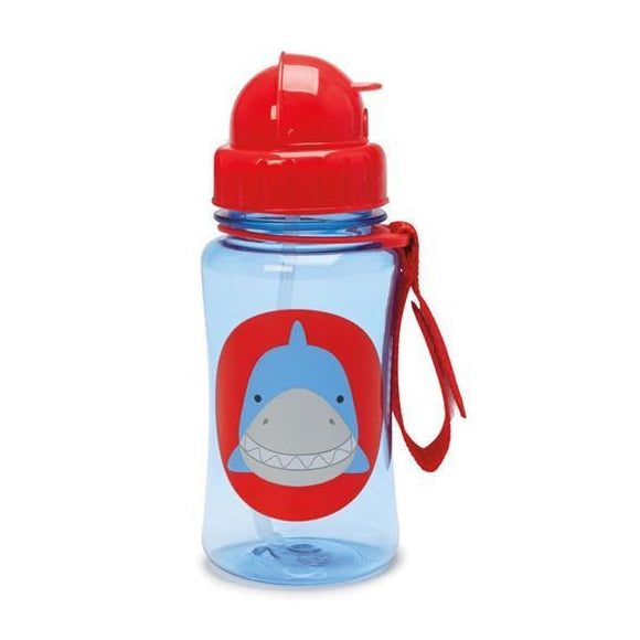 Skip Hop straw bottle - Shark - fifibaby