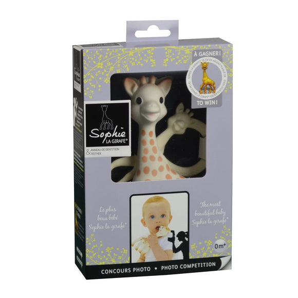 Sophie La Girafe Natural Rubber Toy Teether Award Set - fifibaby