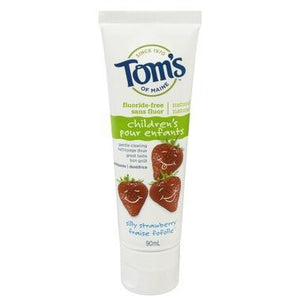 Tom's of Maine Fluoride-Free Children's Toothpaste Strawberry