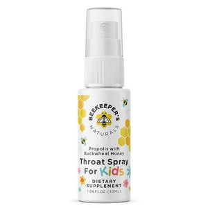 BEEKEEPER'S NATURALS Propolis Throat Spray for Kids 30ML