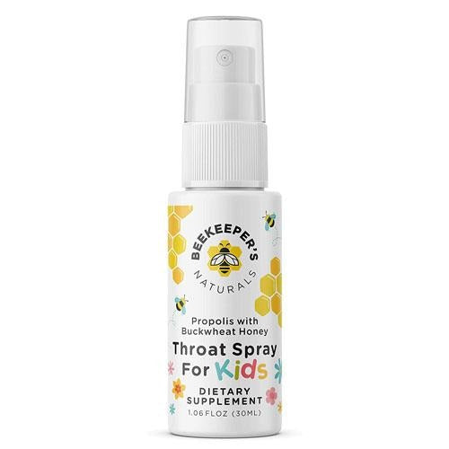 BEEKEEPER'S NATURALS Propolis Throat Spray for Kids 30ML - fifibaby