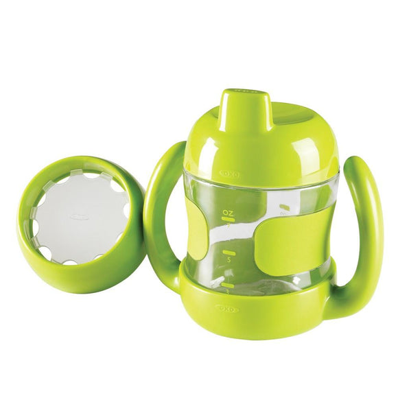 oxo tot Sippy Cup Set with Training Lid 7oz - fifibaby
