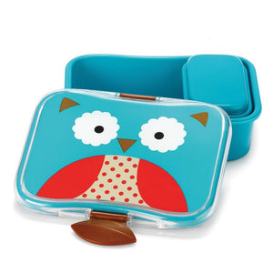 SKIP HOP ZOO LUNCH KIT - 24 oz - Owl - fifibaby