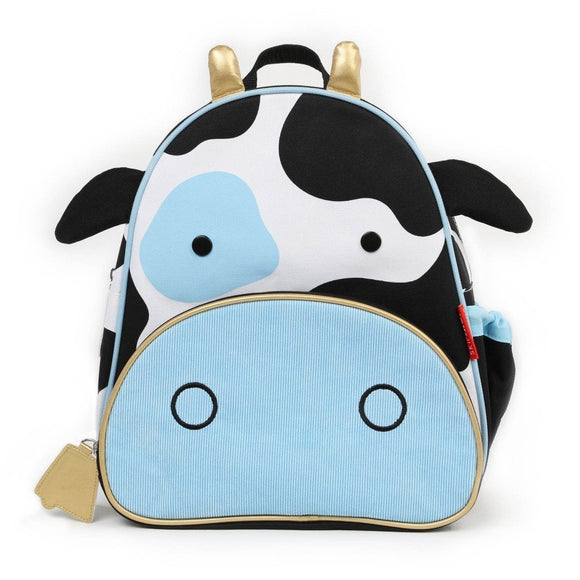 Skip Hop Zoo Little Kid Backpack - Cow - fifibaby