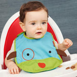 Skip Hop Zoo Bibs Tuck-Away Bib