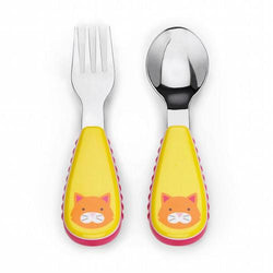 Skip Hop Zoo Collection Fork & Spoon