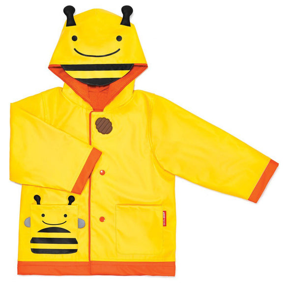 Skip Hop Zoo Little Kid Raincoat - Bee - fifibaby