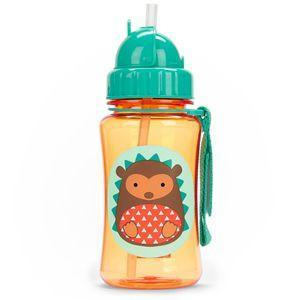 Skip Hop straw bottle - Hedgehog - fifibaby
