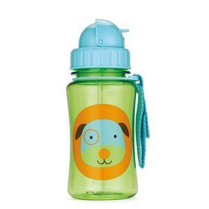 Skip Hop straw bottle - Dog - fifibaby