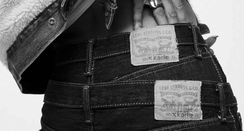 Levi's® x karla 501 Day Collection