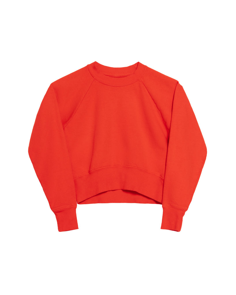 The Crop Sweatshirt in Red - x karla - x - karla - fashion - style - karla welch -