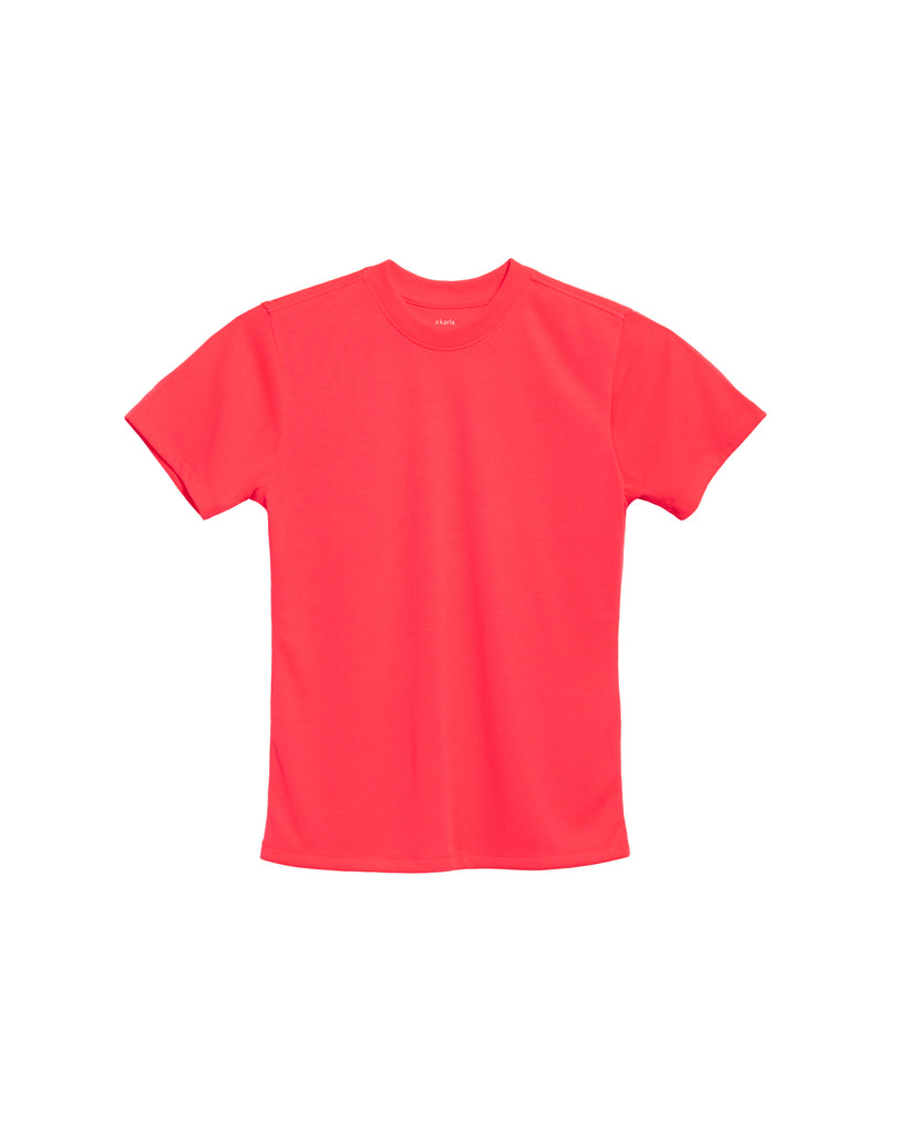 xkarla crew t-shirt neon collection top 1