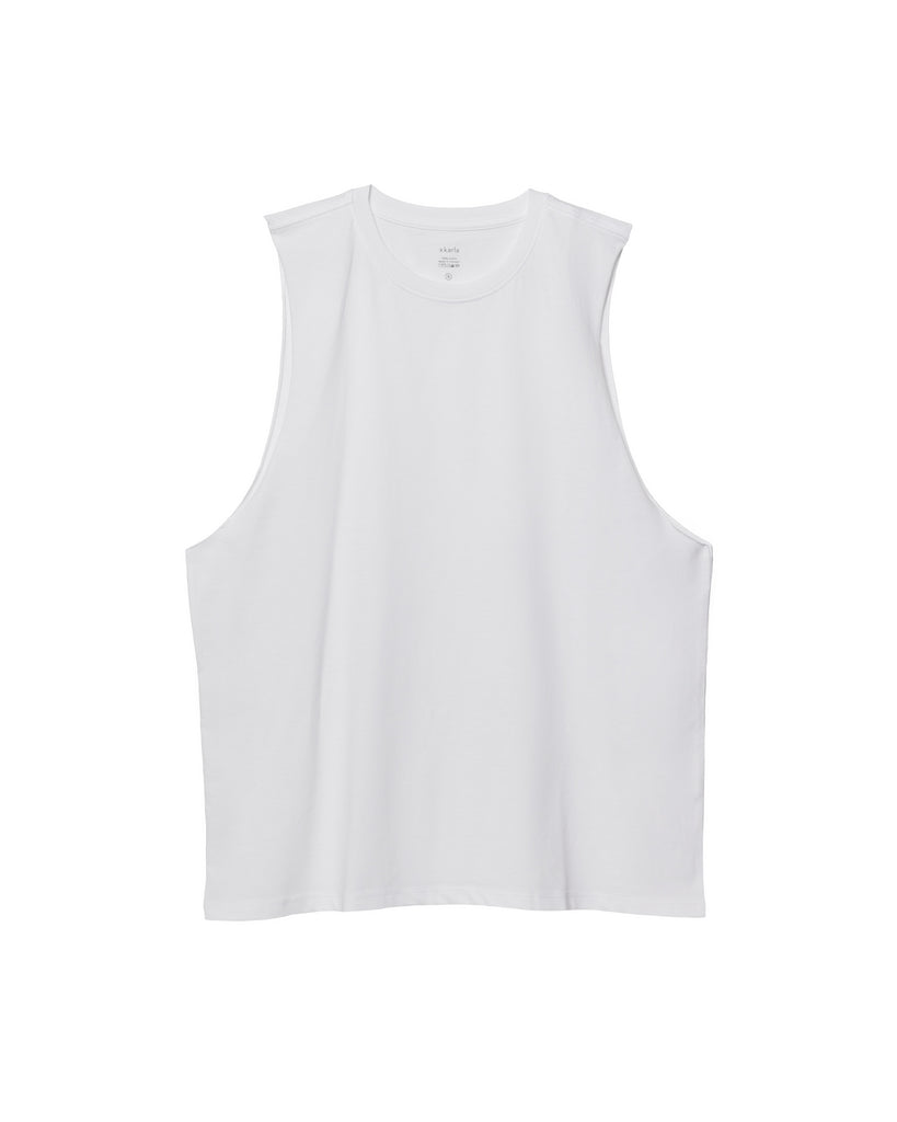 The Muscle Tank (White) - x karla - x - karla - fashion - style - karla welch -
