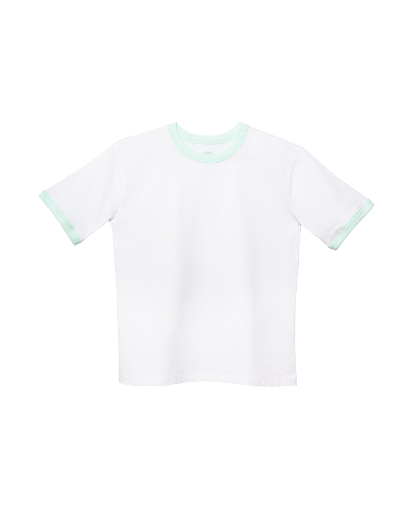 The Ringer (White/Neo Mint) - x karla - x - karla - fashion - style - karla welch -