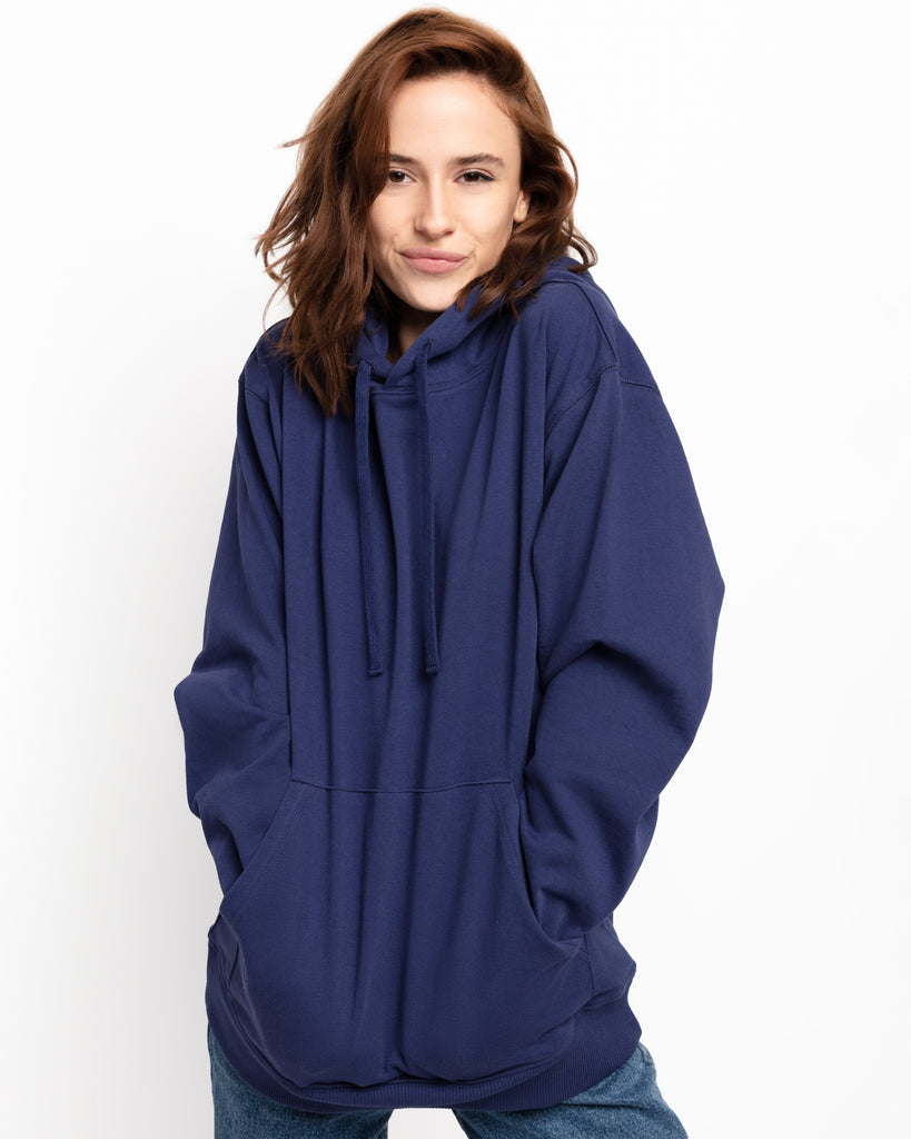 The Hoodie in Deep Blue - x karla - x - karla - fashion - style - karla welch -