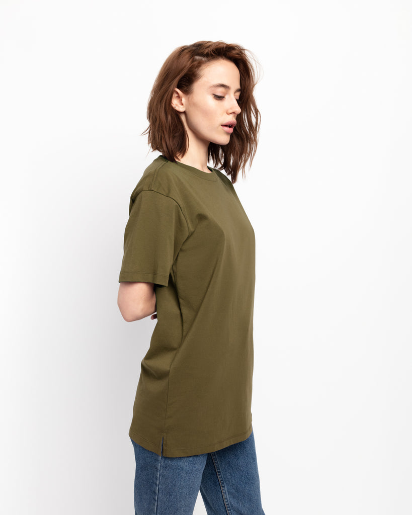 The Classic in Fatigue Green - x karla - x - karla - fashion - style - karla welch -