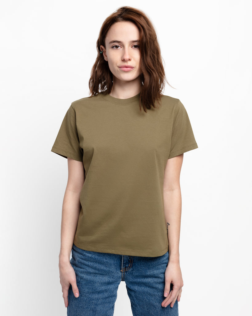The Crew in Fatigue Green - x karla - x - karla - fashion - style - karla welch -