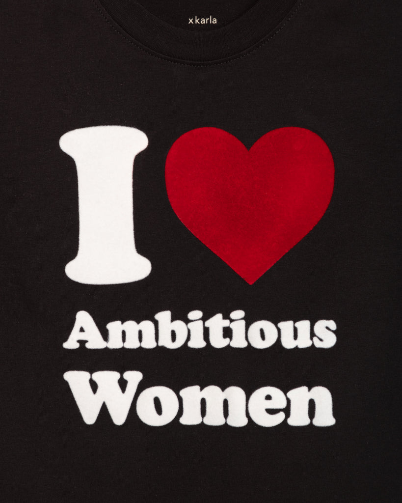 I Love Ambitious Women on The Crew in Black - x karla - x - karla - fashion - style - karla welch -