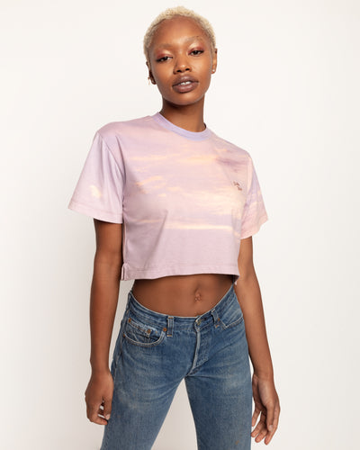 Stella xkarla Cropped Tee in Cotton Candy - x karla - x - karla - fashion - style - karla welch -