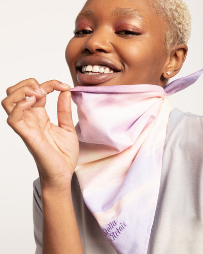 Stella xkarla Bandana in Cotton Candy - x karla - x - karla - fashion - style - karla welch -