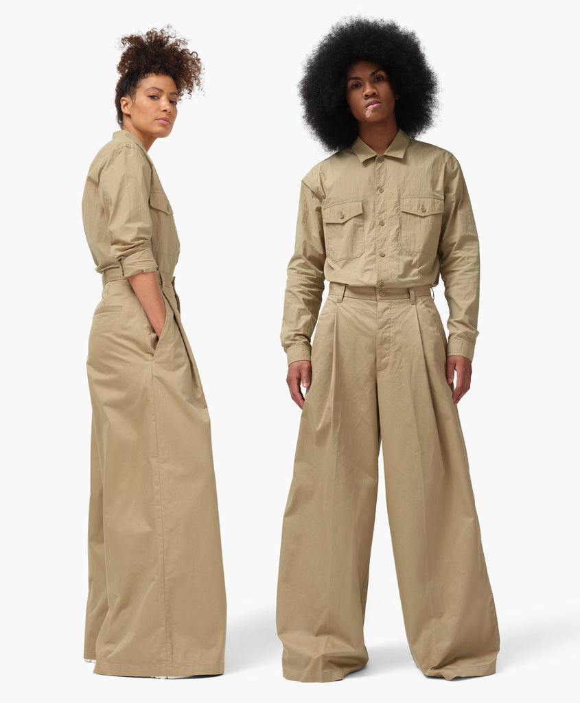 Dockers® x karla Wide Leg Trouser in Harvest Gold - x karla - x - karla - fashion - style - karla welch -
