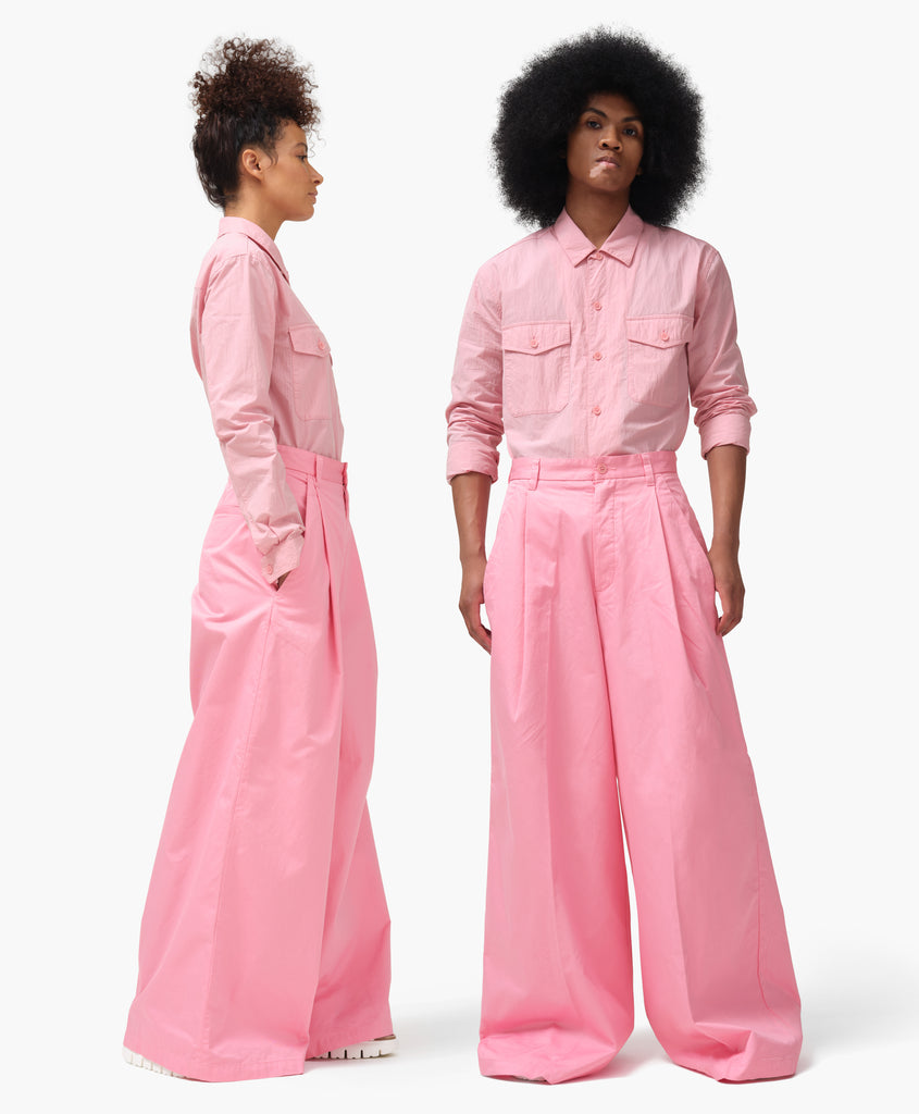 Dockers® x karla Wide Leg Trouser in Sea Pink - x karla - x - karla - fashion - style - karla welch -