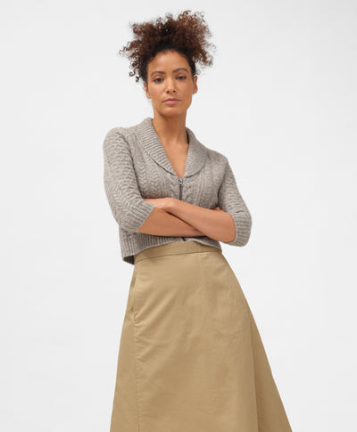Dockers® x karla Cardigan in Harvest Gold - x karla - x - karla - fashion - style - karla welch -