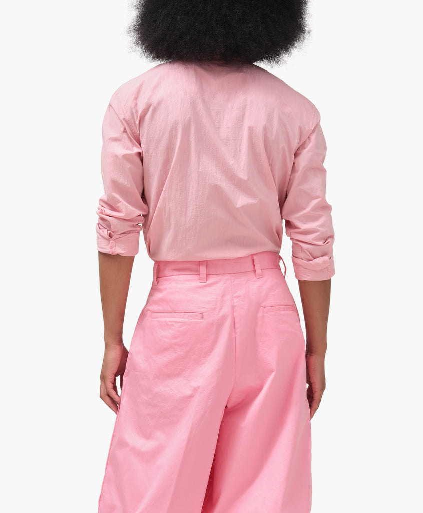 Dockers® x karla Button-Up Shirt - Sea Pink - x karla - x - karla - fashion - style - karla welch -