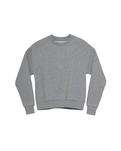 The Unisex Crew Sweatshirt in Heather Grey - x karla - x - karla - fashion - style - karla welch -